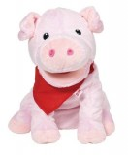 Handpuppe Schwein Snelly