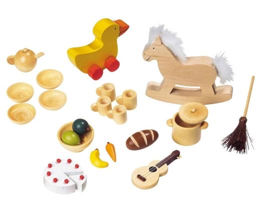 Requisiten / Symbole 1 (für Biegepuppen und Familienbrett)
