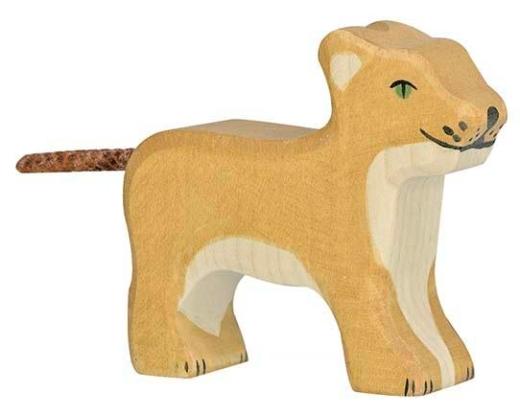 Kleiner Löwe (stehend) (HOLZTIGER)