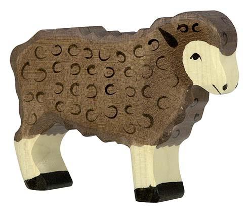 """Das """"Schwarze Schaf"""" in einer Familie - Figur von HOLZTIGER"""