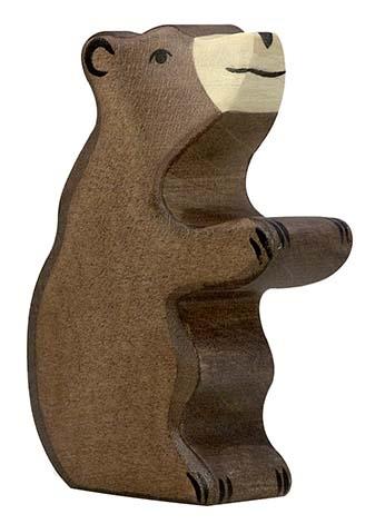 Kleiner Braunbär - sitzend