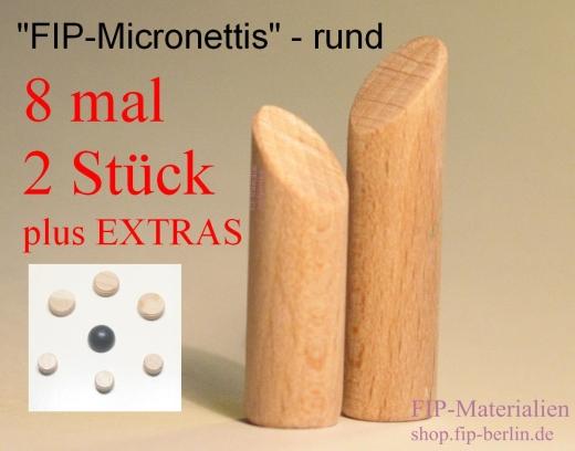 FIP-Micronettis rund - Kleinste Figuren für Familienaufstellung / Systemaufstellung