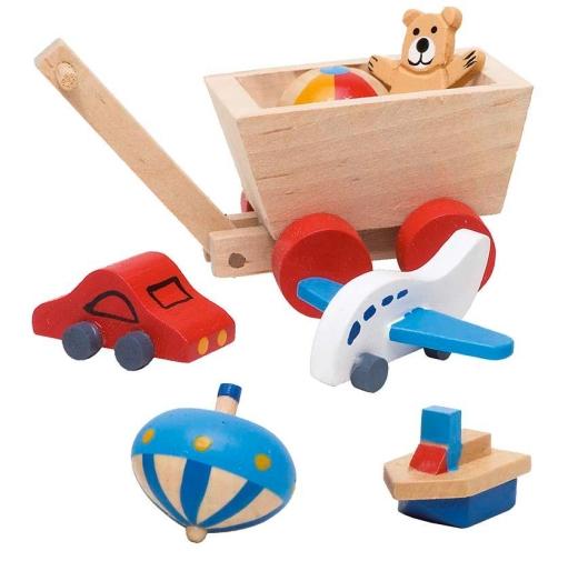 Requisiten / Symbole Kinderzimmer (für Biegepuppen und Familienbrett)