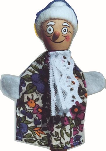 Fingerpuppen-Set 3 (15 Hohenloher Puppen)
