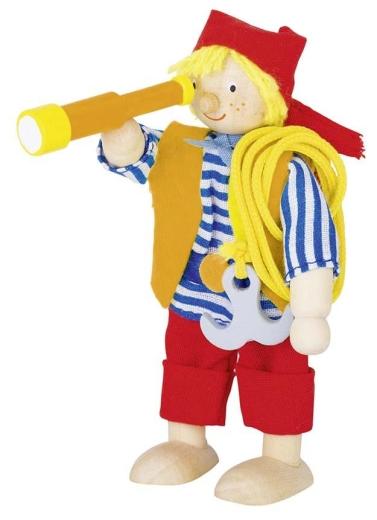 Biegepuppe Kleiner Pirat