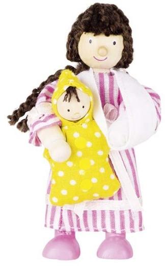 Biegepuppe Patientin Mädchen (Index-Klientin)