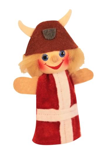 Fingerpuppe Wikinger Snorre (KERSA Fipu)