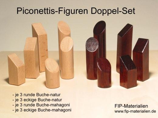 Piconetti-Figuren Doppel-Set