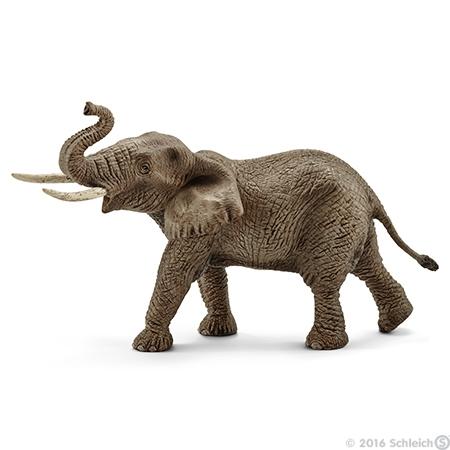 Elefant - Afrikanischer Elefantenbulle (Schleich)