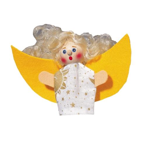 Fingerpuppe Engel - Schutzengelchen (KERSA Fipu)