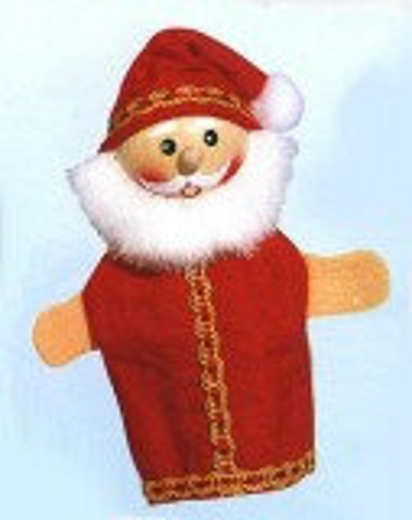 Fingerpuppe Weihnachtsmann (KERSA Fipu)