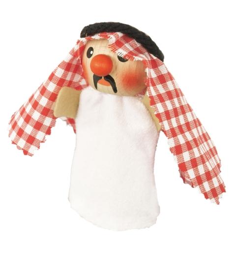Fingerpuppe Scheich Abdula (KERSA Fipu)