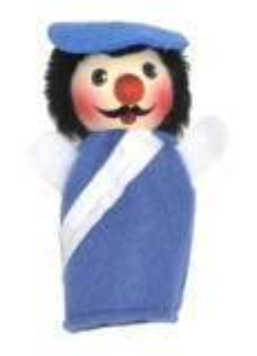 Fingerpuppe Polizist, blau (KERSA Fipu)