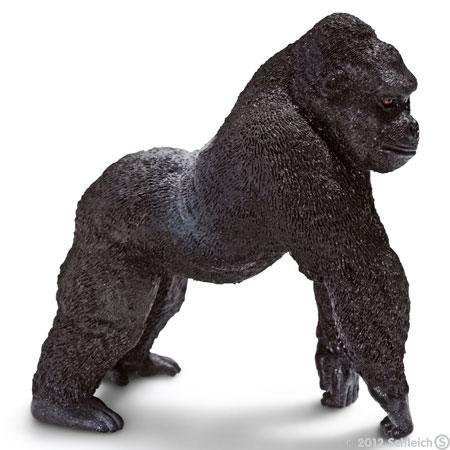 Gorilla - Männchen Silberrücken (Schleich)