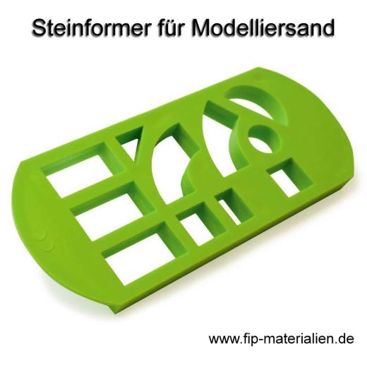 Steinformer, Ziegelformer für Modelliersand & Knete