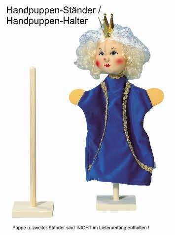Handpuppen-Halter, Handpuppen-Ständer für eine Handpuppe ab 10 Stück