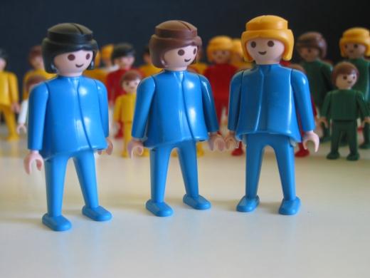 Familienaufstellung / Systemaufstellung Playmobil-Set