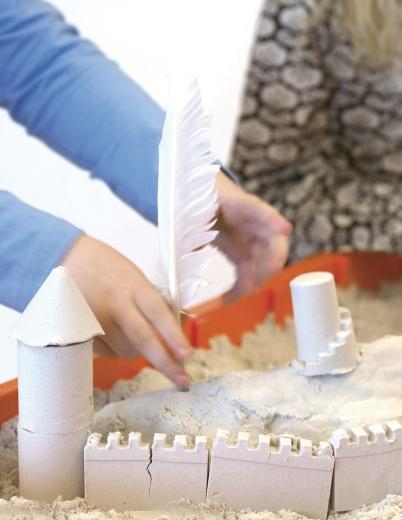 Skulptursand - Modelliersand Shape it! - Großpackung