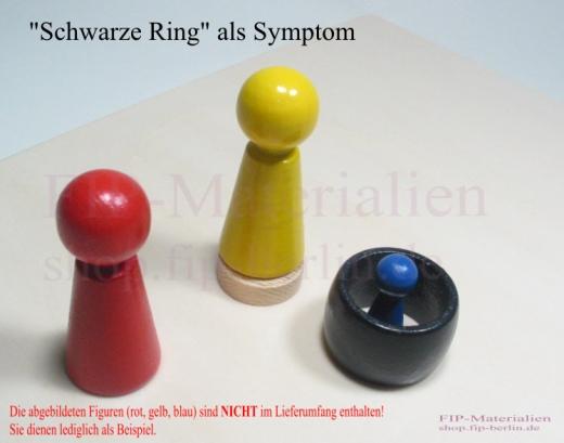 Schwarze Ring (Symptom) Solid