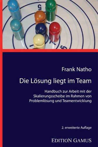 """Skalierungsscheibe-Systembrett """"Go & Work"""" mit Buch Die Lösung liegt im Team"""
