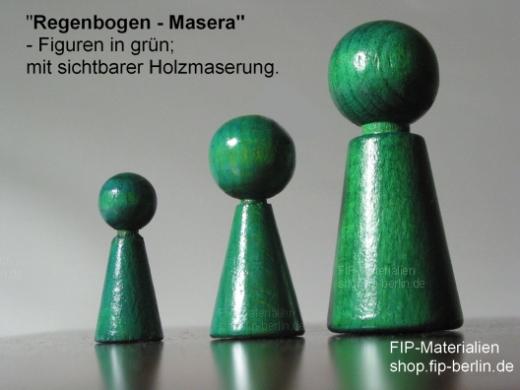 3-er Set Familienbrett-Figuren Humanos - Masera