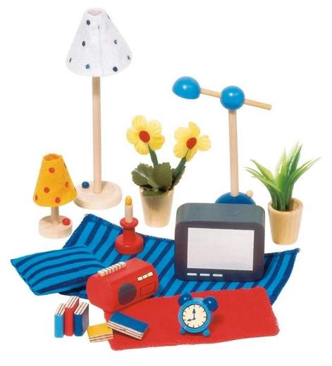 Requisiten / Symbole Wohn- und Schlafzimmer