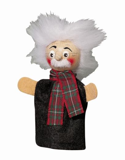 Fingerpuppe Papa Gepetto  Einstein (KERSA Fipu)