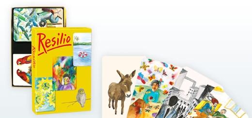 Resilio - 99 Bildkarten zu Stress und Resilienz plus 44 Tierkarten