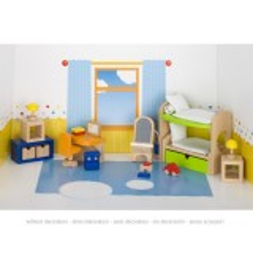Puppenmöbel Kinderzimmer 1