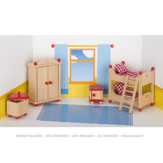 Puppenmöbel Kinderzimmer 2