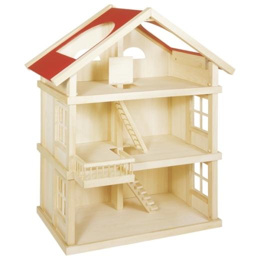 Puppenhaus mit 3 Etagen