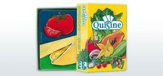Quisine - Bildkarten mit 110 Lebensmitteln