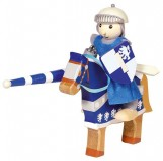 Biegepuppe Blauer Ritter (Lancelod)