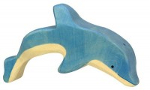 Delfin , springend