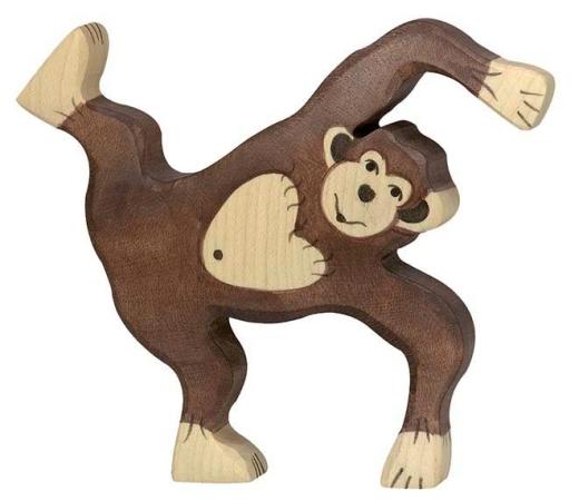 Schimpanse, spielend (Monkeymind)