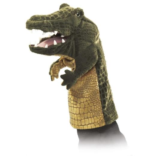 Krokodil Handpuppe (FOLKMANIS)
