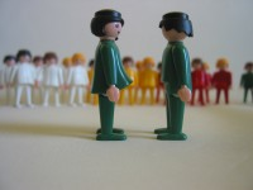 Familienaufstellung / Systemaufstellung Playmobil-Set - 30 Erwachsen