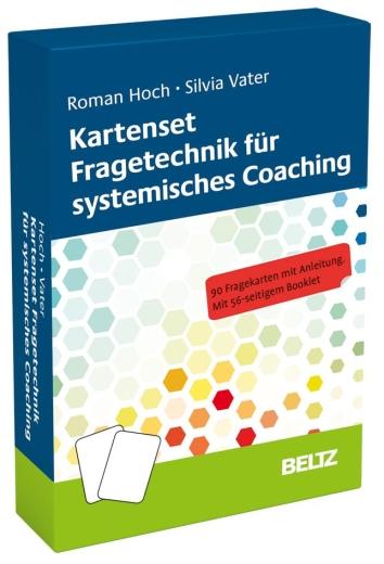 Kartenset Fragetechnik für systemisches Coaching, Roman Hoch u. Silvia Vater