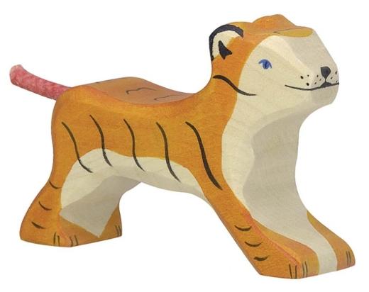 Kleiner Tiger, laufend