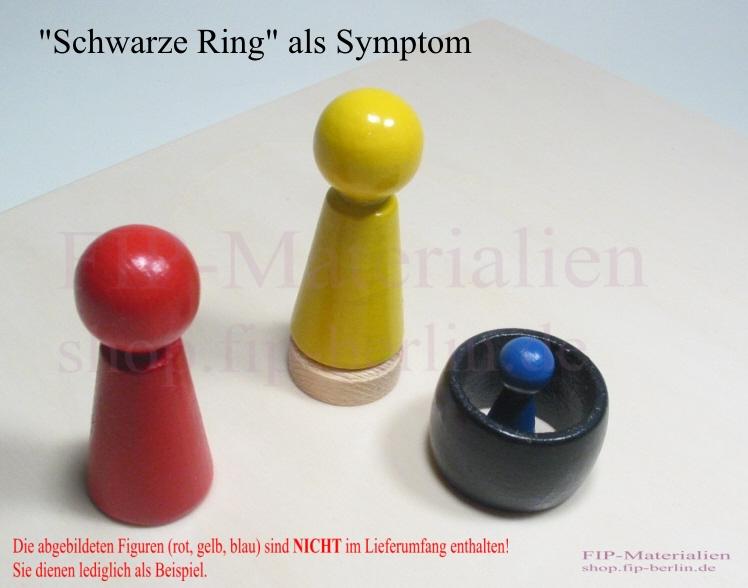 """Schwarze Ring im """"Herr der Ringe Entwicklungsmodell"""""""